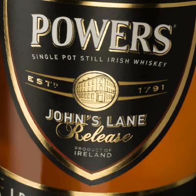 Powers Johns Lane Label