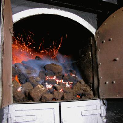 Laphroaig Kiln Feuer
