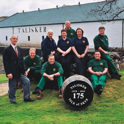 Talisker Distillery Mannschaft